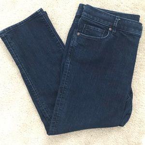 Ann Taylor Loft crop jeans size 31 12